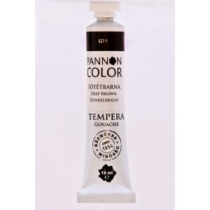 Tempera PANNONCOLOR 18ml 627   sötétbarna