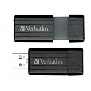 Pendrive VERBATIM Pin Stripe 104 MBsec 16GB  UV16GPF