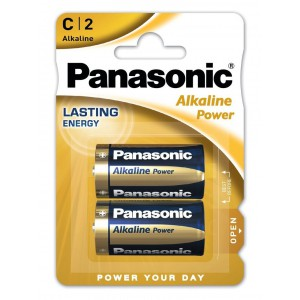Elem PANASONIC Alkaline Power Baby  LR14APB-2BP