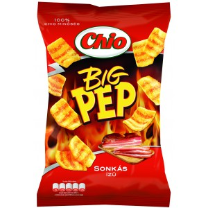 Chio Big Pep - sonkás chips 65g