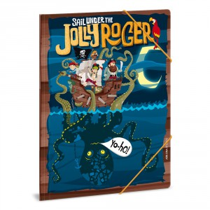 Gumis mappa ARS UNA A4 Jolly Roger   806