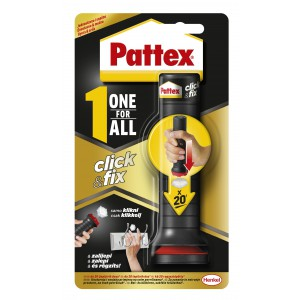 Ragasztó univerzális PATTEX All for One ClickFix 30g