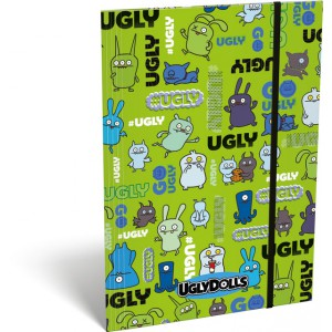 Gumis mappa LIZZY A5 Ugly Dolls green 19671102